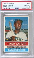 Hank Aaron (Black Back) [PSA 6 EX‑MT]