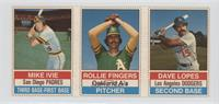 Mike Ivie, Rollie Fingers, Dave Lopes
