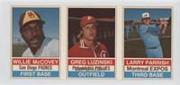 Willie McCovey, Greg Luzinski, Larry Parrish