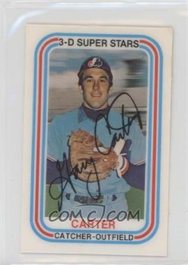 1976 Kellogg's 3-D Super Stars - [Base] #34 - Gary Carter
