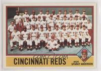 Cincinnati Reds Checklist MGR. Sparky Anderson