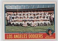 Los Angeles Dodgers Team, Walt Alston [PoortoFair]