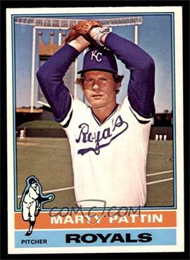 1976 O-Pee-Chee - [Base] #492 - Marty Pattin [EX MT]