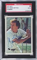 Graig Nettles [SGC AUTHENTIC AUTO]