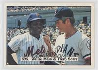 Willie Mays, Herb Score