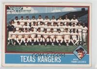 Texas Rangers Team [Poor]