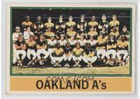 Oakland Athletics Team [Poor]