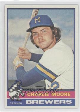 1976 Topps - [Base] #116 - Charlie Moore - Courtesy of COMC.com