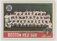 Boston Red Sox Team, Darrell Johnson