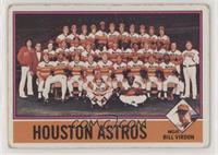 Houston Astros Team, Bill Virdon [PoortoFair]