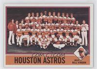 Houston Astros Team, Bill Virdon