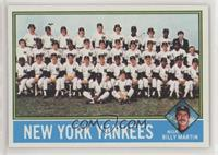 New York Yankees Team, Billy Martin