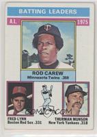 Rod Carew, Fred Lynn, Thurman Munson [GoodtoVG‑EX]