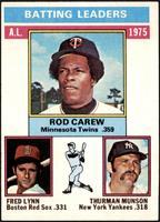 Rod Carew, Fred Lynn, Thurman Munson [EXMT]