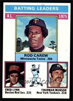 Rod Carew, Fred Lynn, Thurman Munson [EX]