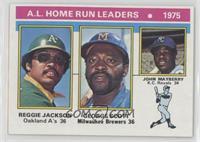 Reggie Jackson, George Scott, John Mayberry