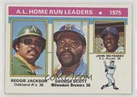 Reggie Jackson, George Scott, John Mayberry [NonePoortoFair]