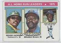 Reggie Jackson, George Scott, John Mayberry [NoneGoodtoVGR…