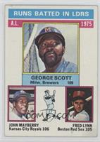 George Scott, John Mayberry, Fred Lynn