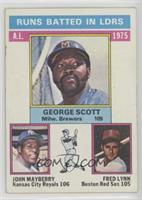George Scott, John Mayberry, Fred Lynn [Poor]