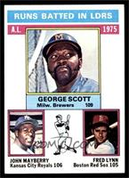 George Scott, John Mayberry, Fred Lynn [NM]