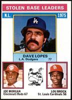 Davey Lopes, Lou Brock, Joe Morgan [NMMT]