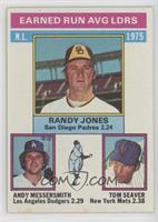Randy Jones, Tom Seaver, Andy Messersmith