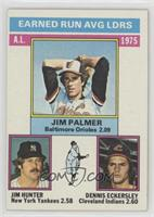 1975 AL ERA Leaders (Jim Palmer, Jim Hunter, Dennis Eckersley)