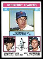 Tom Seaver, John Montefusco, Andy Messersmith [NM]