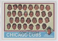 Chicago Cubs Team, Jim Marshall