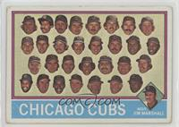 Chicago Cubs Team, Jim Marshall [Poor to Fair]