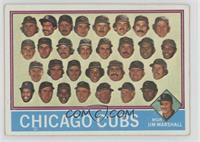 Chicago Cubs Team, Jim Marshall [GoodtoVG‑EX]