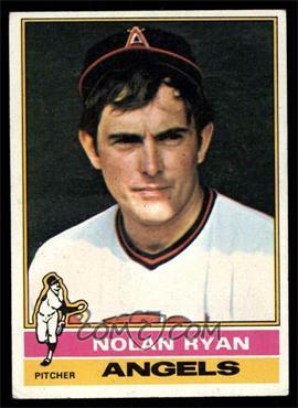 1976 Topps - [Base] #330 - Nolan Ryan [VGEX]