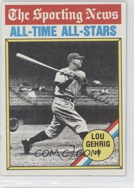 1976 Topps - [Base] #341 - Lou Gehrig