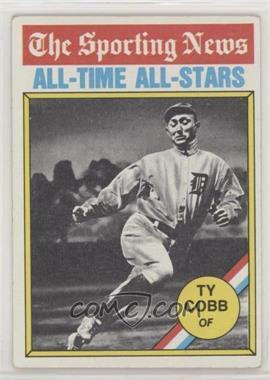 1976 Topps - [Base] #346 - Ty Cobb [GoodtoVG‑EX]
