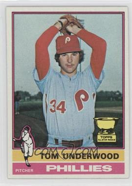 1976 Topps - [Base] #407 - Tom Underwood