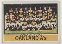 Oakland Athletics Team [GoodtoVG‑EX]