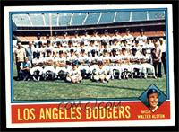 Los Angeles Dodgers Team, Walt Alston [VG]