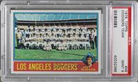Los Angeles Dodgers Team, Walt Alston [PSA 9 MINT]
