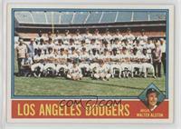 Los Angeles Dodgers Team, Walt Alston