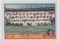 Los Angeles Dodgers Team, Walt Alston [Good to VG‑EX]