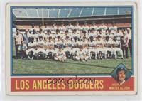 Los Angeles Dodgers Team, Walt Alston [NoneGoodtoVG‑EX]