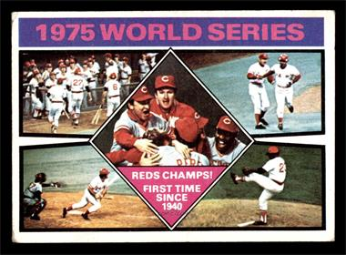 1976 Topps - [Base] #462 - 1975 World Series Reds Champs! [VG]