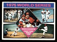 1975 World Series Reds Champs! [VG]