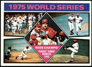 1976 Topps - [Base] #462 - 1975 World Series Reds Champs! [EXMT]