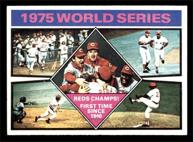 1976 Topps - [Base] #462 - 1975 World Series Reds Champs! [EX MT]