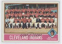 Cleveland Indians Team, Frank Robinson [GoodtoVG‑EX]