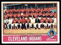 Cleveland Indians Team, Frank Robinson [EX]