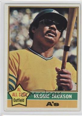 1976 Topps - [Base] #500 - Reggie Jackson