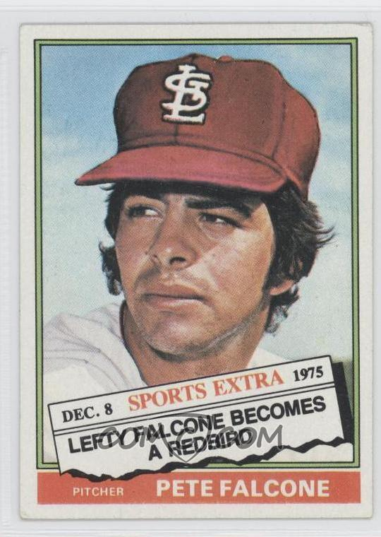 1976 Topps Base 524t Traded Pete Falcone